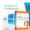 Комплект Windows 10 Pro + Office 2016 Pro Plus